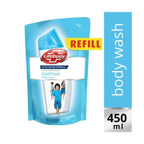 Sabun Lifebuoy Cair 450 Ml jual lifebuoy coolfresh pouch wash 450 ml 21145589