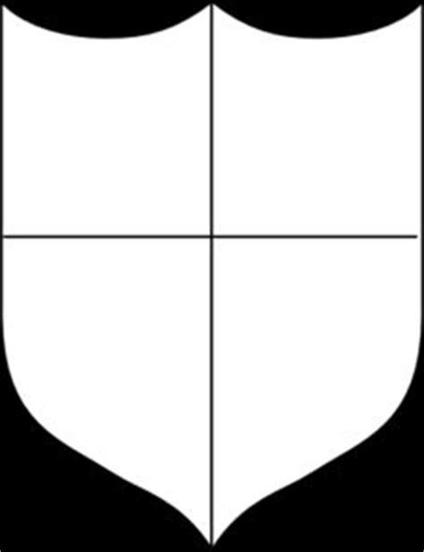 school shield template quadrant shield template search school crest