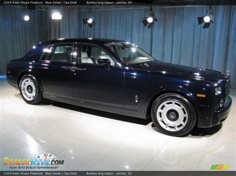 rolls royce phantom blue 2004 rolls royce phantom blue velvet sea shell photo 3