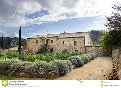 tuscany house tuscan house stock photography image 35427612