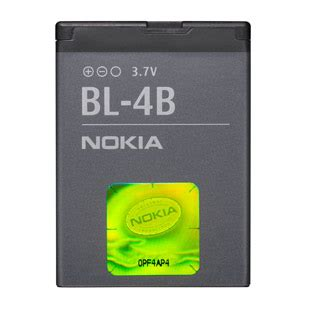 Nokia 7070 Prism New Refurbish new replacement bl 4b battery for nokia 2630 2760