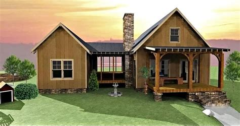 Max Fulbright House Plans C Creek Cabin Traditional Exterior Atlanta By Max Fulbright Designs