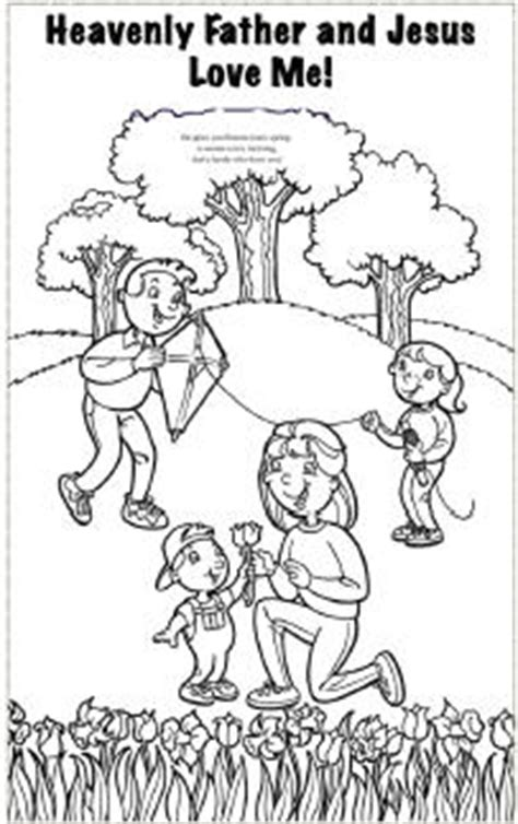 lds coloring pages heavenly father 6 heavenly father and jesus love me coloring sheet lds