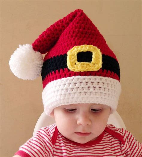 free crochet santa hat for children best 25 crochet santa hat ideas on