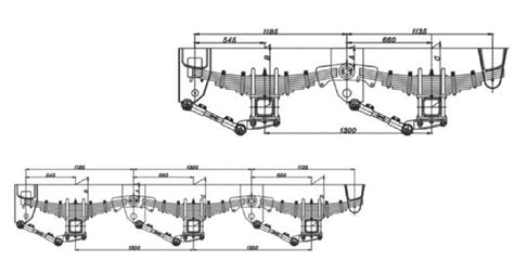 layout types and exles bpw 3 axle trailer suspension buy bpw suspensions 3 axle