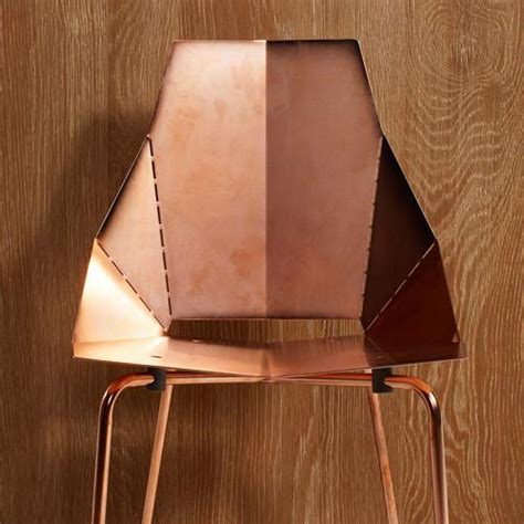 Copper Real Chair by Copper Real Bar Stool Mode