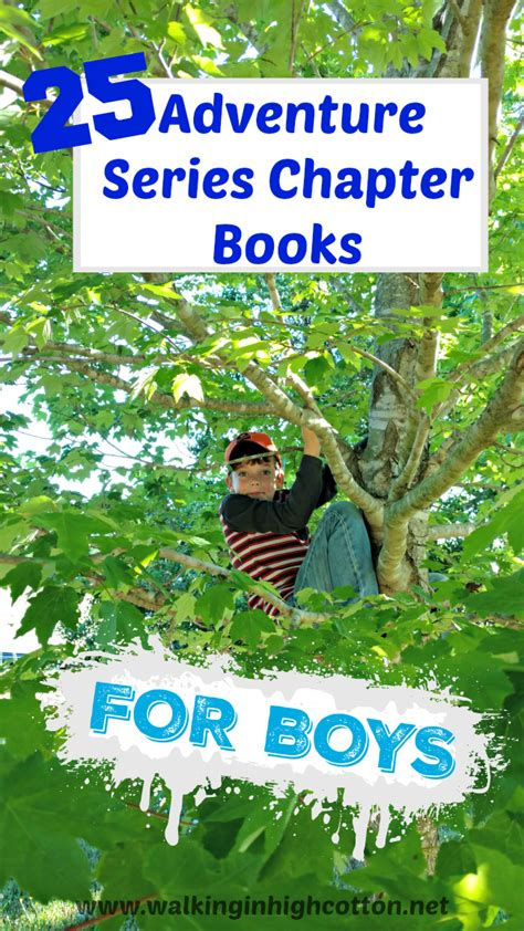 9 best book series for teenage boys 25 adventure series chapter books for young boys walking