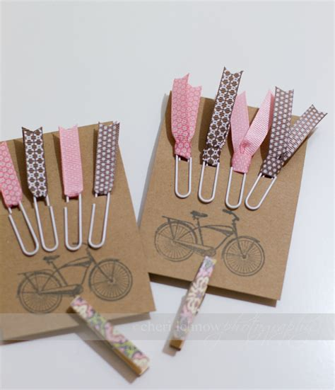Paper Clip Craft - tinkerwiththis handcrafted ribbon paperclip