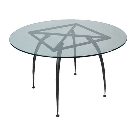 Iron Table Base by Pictured Here Is The Dining Table Base Only For