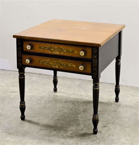 Hitchcock Table by Hitchcock Furniture At Nest Egg Auctions