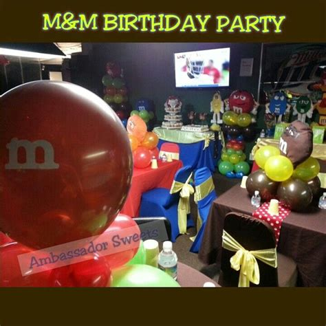 themed party m m m theme party parties and celebrations pinterest
