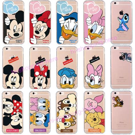 Disney Premium Soft Jellycase Iphone 5 6 6 7 7 Iphone 5 5s 6 6 soft silicone rubber tpu disney clear cover for iphone 7 6s plus what s it worth