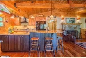 Rustic Cabin Kitchen Cabinets Rustic Log Cabin Kitchen