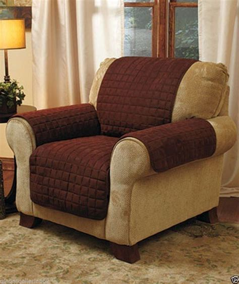recliner armchair covers brown arm chair sleeves yellow chairs at target popular