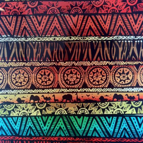 tribal pattern artists african pattern pinteres