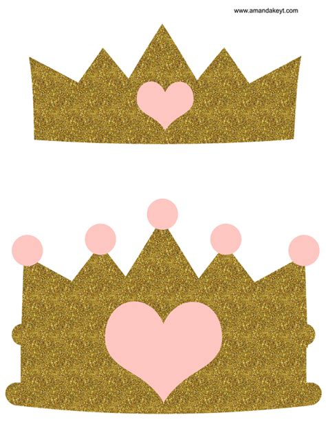 printable baby crown crown clipart light pink pencil and in color crown
