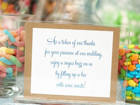 Quotes For Candy Buffet Table Quotesgram Wedding Buffet Sayings