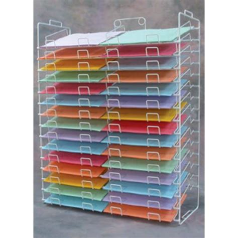 paper rack scrapbooking paper shelves