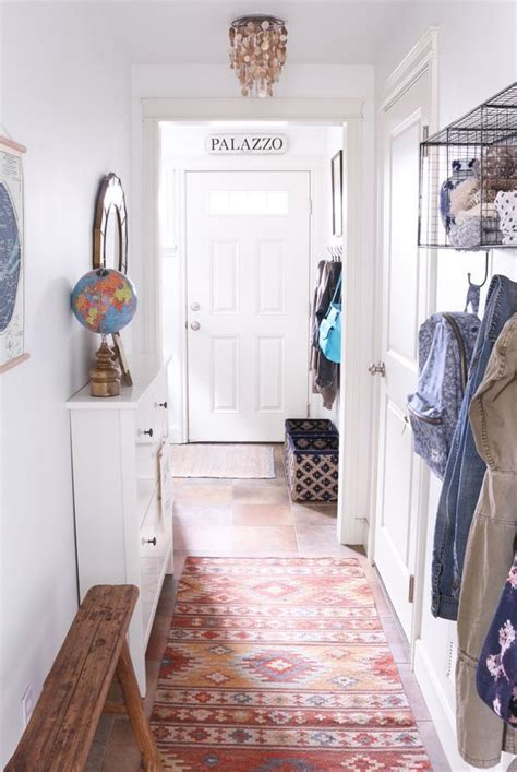 organizing  small entry  hall makeover  townhouse
