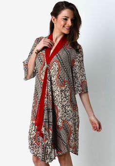 Model Dress Batik Danar Hadi Terbaru model baju kerja batik lung model baju batik terbaru models