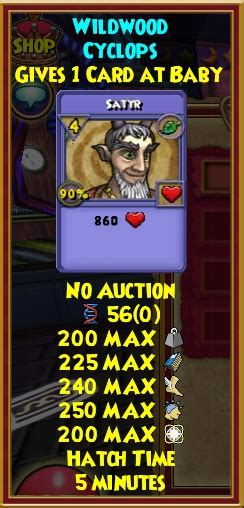 Wizard101 20 Dollar Gift Card - wizard101 petnome project licensed for non commercial use only wildwood cyclops
