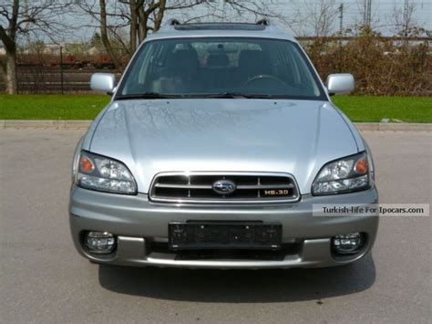 subaru outback h6 3 0 fuel consumption 2005 subaru outback h6 3 0 4wd leather car photo and specs