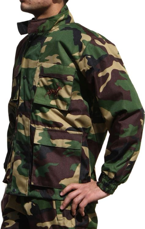 army pattern coats hunting jacket textile military pattern deer stitchery