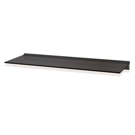 floating black glass shelves 15 photo of black glass floating shelf