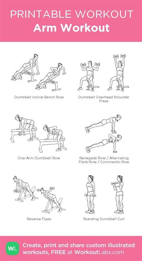 17 best images about workouts printable on abs and biceps