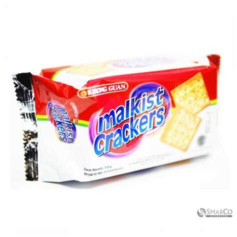 Khong Guan Crackers detil produk khong guan malkist crackers bungkus 115