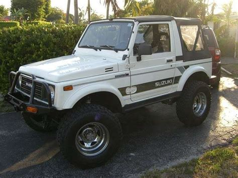 Suzuki Samurai 4x4 For Sale 1988 Suzuki Samurai Jx 4x4 For Sale From San Diego