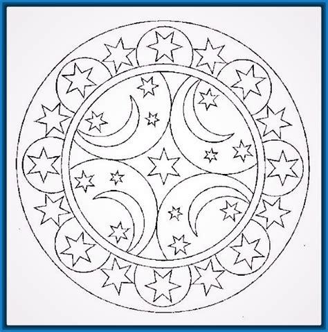 imagenes de mandalas para niños dibujos de mandalas para ni 241 os para colorear archivos