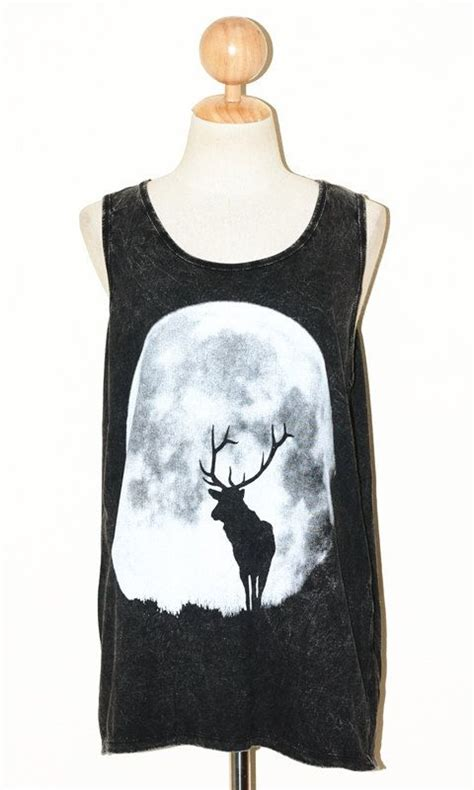 Giordano Sleeveless Original by Deer And The Moon Top Clothing Bleached Black