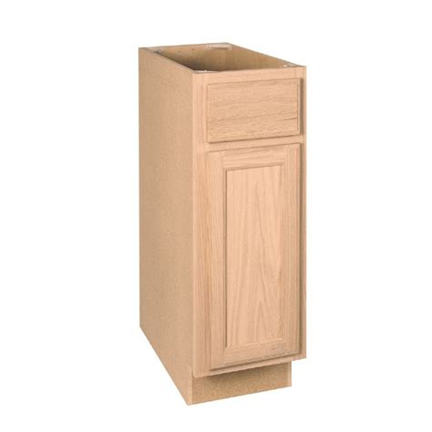 kitchen base cabinet drawers shop project source 12 in w x 34 5 in h x 24 in d