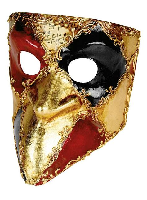 Italian Decorations For Home Bauta Scacchi Colore Musica Venetian Mask Maskworld Com