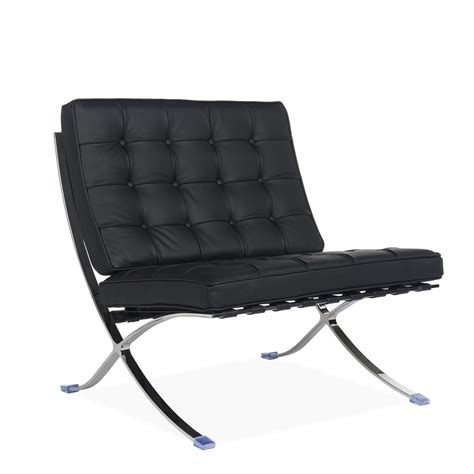 fauteuil barcelone fauteuil barcelona leather chaises ic 244 nes du design barcelona chair