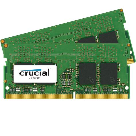 ram memory 16gb crucial 32gb ddr4 2400 mhz so dimm memory kit ct2k16g4sfd824a