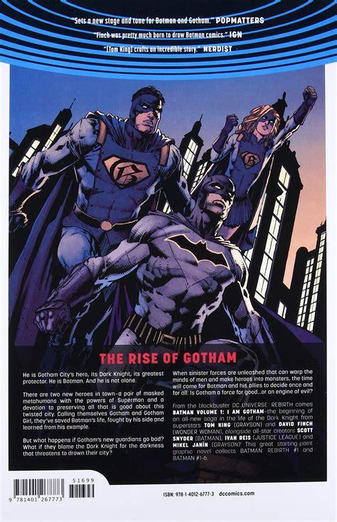 batman tp vol 1 1401267777 batman vol 1 i am gotham rebirth paperback amazon