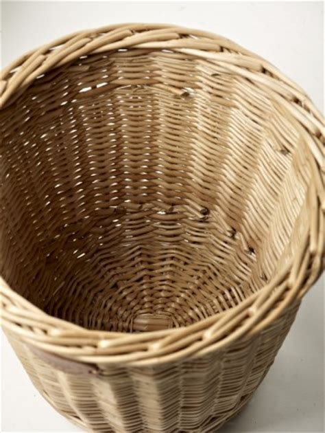 waste paper baslet willow waste paper basket products somerset willow england
