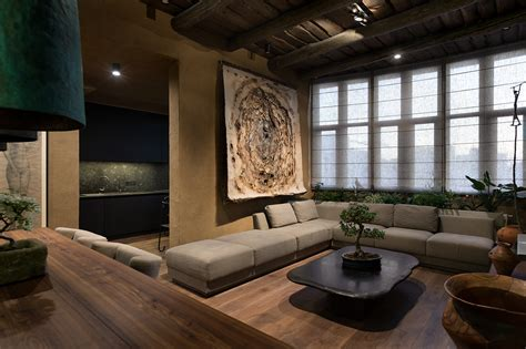 wabi sabi interior design wabi sabi apartment on behance