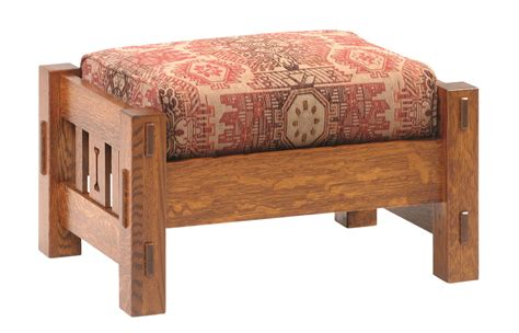 mission ottoman mission ottoman missionottoman furniture gt living room