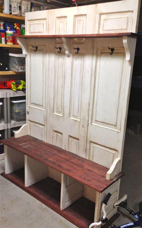 hall rack bench hall tree coat rack bench custom made for you on