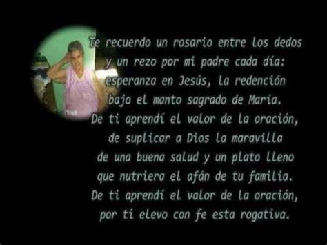 carta de despedida de un padre falecido a su hijo reflexin despedida de mi madre 10 de mayo 2009 youtube