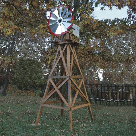 backyard windmills for sale outdoor water solutions wooden garden windmill 10ft h