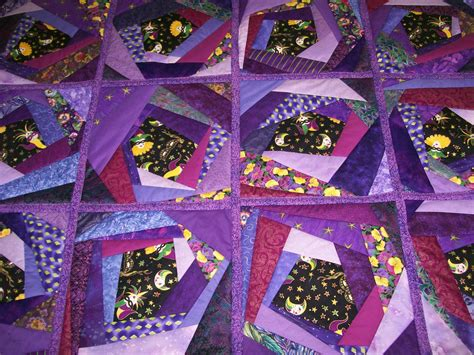 Purple Quilt by Sew Many Quilts Time A Purple Patch