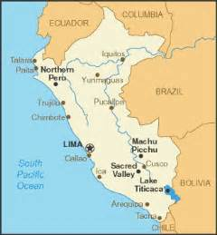 a peru and its major cities peru peru