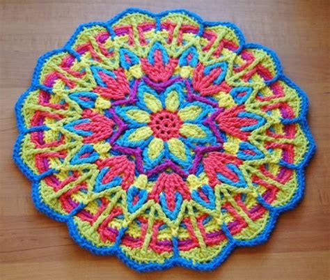 imagenes de mandalas tejidos al crochet taller de mandalas a crochet corriendo con tijeras