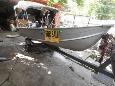 aluminum fishing boat with motor used aluminum fishing boat 5 hp outboard motor n electric
