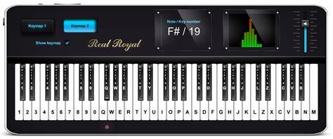 virtual piano  play   keyboard