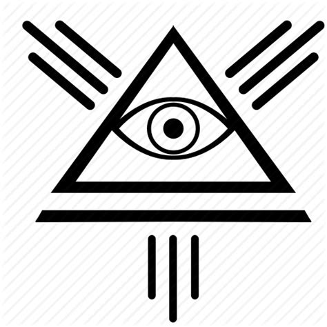 illuminati eye pyramid eye illuminati pyramid triangle icon icon search engine